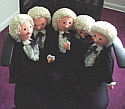 5 little Pertwee's all in a row
